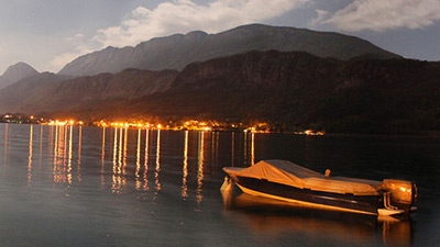 Lac Annecy by Night